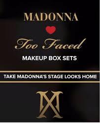 madonna x too faced makeup collection