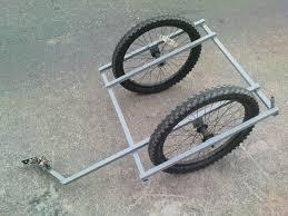 globally accesible diy bike trailer