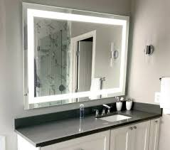lighted bathroom vanity mirror led