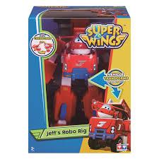 Robot Biến Hình Kết Hợp Xe Cứu Hộ Nhỏ - Jett Tia Chớp Super Wings ...