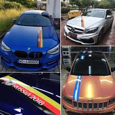 Scratch Stickers Manchester United Juventus Car Stickers Messi Ronaldo Car Stickers Custom Creative Personality Car Body