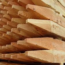 75 X 75 X 2 4m Treated Fence Post Pointed