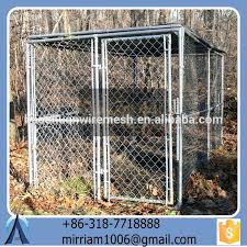 Well Suited Large Outdoor Hot Sale New Design Dog Kennel Pet House Dog Cage Run Carrier