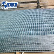 China 6 Gauge 4x4 Inch Galvanized Welded Wire Mesh Fence Sheet For Safety China Safety Fence Galvanized Mesh Fence