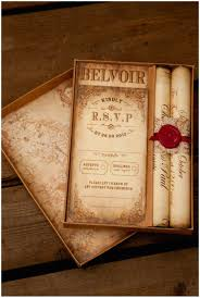 Montecristo Scroll Wedding Invitation Truly Madly Dottie Blog