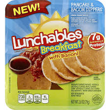 lunchables breakfast with bacon