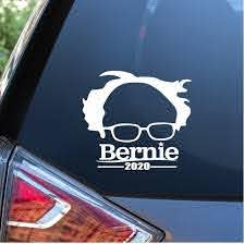 Bernie Sanders 2020 Car Window Decal Sticker Custom Sticker Shop