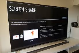 how to use lg screen mirroring on