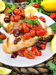 Grilled Swordfish Steaks with Tomato ...