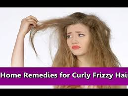 home remes for curly dry frizzy hair