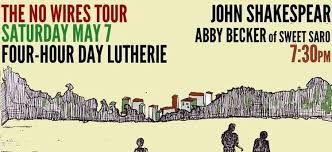 John Shakepear, Abby Becker and Canopy at Four Hour Day Lutherie - WTMD