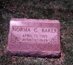Norma Geneva Sullivan Baker (1915-1948) - Find A Grave Memorial