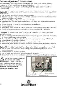 050261 Pet Containment Transmitte User Manual Invisible Fence 800 Series Installation Manual Radio Systems