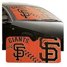 New Mlb San Francisco Giants Car Truck Windshield Folding Sunshade Large Size 681620868258 Ebay