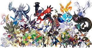 shiny legendary pokemon wallpaper