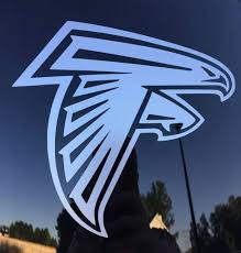 Atlanta Falcons Car Decal Falcons Car Decals Sports Team Stickers Man Decal Gifts Laptop Atlanta Falcons Wallpaper Custom Vinyl Decal Atlanta Falcons Logo