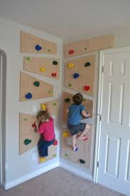 Do It Yourself Climbing Wall The Created Home Indoor Climbing Wall Diy Climbing Wall Kids Playroom