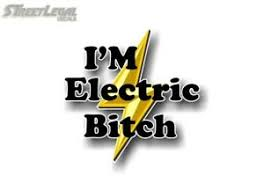I M Electric Bitch 5 Decal For Volt Bolt Prius Electric Car Decal Vinyl Sticker Ebay