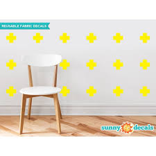Sunny Decals Plus Sign Fabric Wall Decal Wayfair