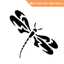 11 5 11 4cm Dragonfly Fashion Home Decor Sticker Vinyl Decal Cars Truck Laptop Window Wall Bumper Decor Gift Stickers Wish