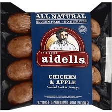apple smoked en sausage