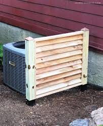 Diy Building A Stylish Ac Screen Cover Building Strong