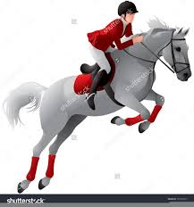 Equestrian Jumping Clipart Free Images At Clker Com Vector Clip Art Online Royalty Free Public Domain