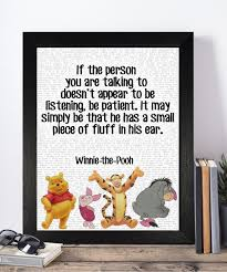 vintage winnie the pooh disney quotes collection unframed prints