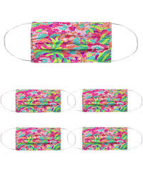 Lilly Pulitzer Cloth Face Mask