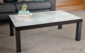 ikea lack coffee table makeover the