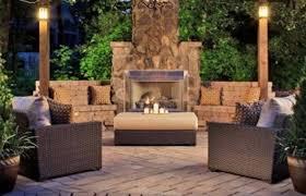 backyard fireplace designs best outdoor