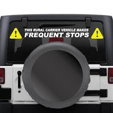 Rural Carrier Us Mail Frequent Stops Sticker Kit For Usps Rural Route