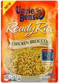 uncle bens en broccoli flavored