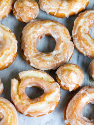 old fashioned sour cream donuts with