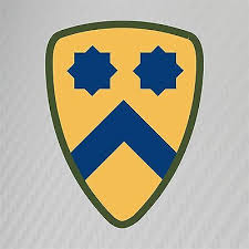 Us Army First Cavalry Division Insignia Military Graphics Decal Sticker Car Home Garden Children S Bedroom Boy Decor Decals Stickers Vinyl Art Ayianapatriathlon Com