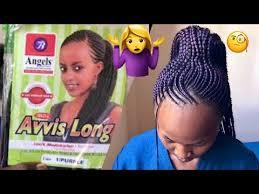 GHANIAN LINES//FEEDING IN BRAIDS (AVIS LONG@ANGELS) - YouTube