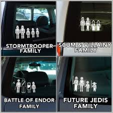 Star Wars Family Car Decals Take My Paycheck Shut Up And Take My Money The Coolest Gadgets Electronics Geeky Stuff And More