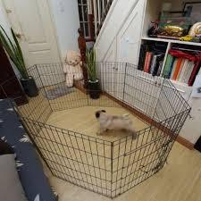 8 Panel Pet Fence Pet Cage Dog Cage Dog Fence Shopee Philippines