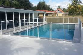 Black Swimming Pool Fences Baby Guard Pool Fence