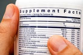 supplement facts changes