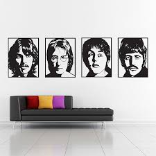 The Beatles Vinyl Wall Art Decal