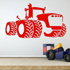 Farm Tractor Car Removable Wall Stickers For Nursery Kids Room Boys Bedroom Wallpaper Home Art Decoration Vinyl Sticker Decals Wall Stickers Decals Walls From Joystickers 11 49 Dhgate Com