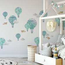 Urban Walls Hot Air Balloons Wall Decal Reviews Wayfair