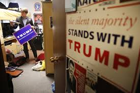 On Campuses Across The Country Students Are Standing Up For Donald Trump Los Angeles Times