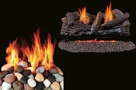 gas log fireplace vs wood burning