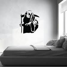 Death And All His Friends Banksy Wall Decal Banksyshop