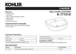 k 17151x 0 kohler candide single hole