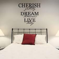 Cherish Dream Live Wall Art Decal Wallums Com Wall Decor