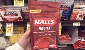 halls cough drops as low as 1 05 at