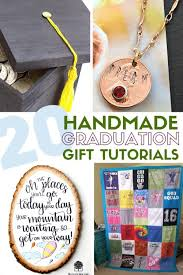 20 handmade diy graduation gifts the